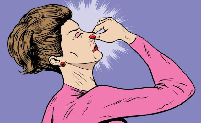 Горечь во рту головокружение запах